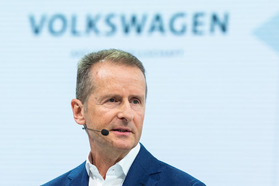Herbert Diess, Vorstandsvorsitzender der Volkswagen AG.
