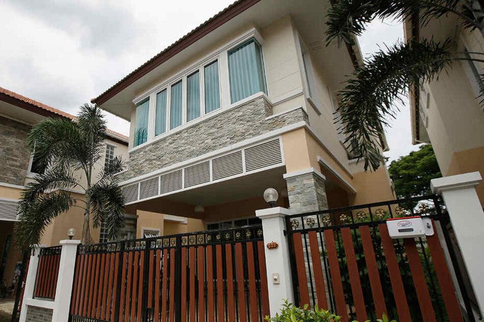 In dieser Villa soll der AlphaBay-Betreiber in Bangkok gewohnt haben.