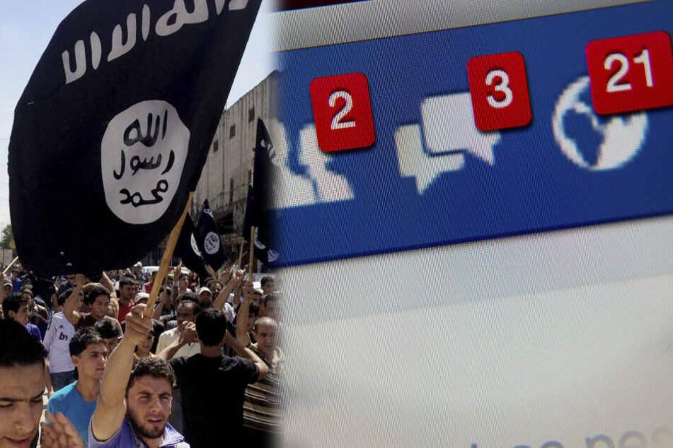 Fotomontage: Der 38 Jahre alte frühere Doktorand soll auf Facebook Werbung für den IS gemacht haben (Symbolbild).