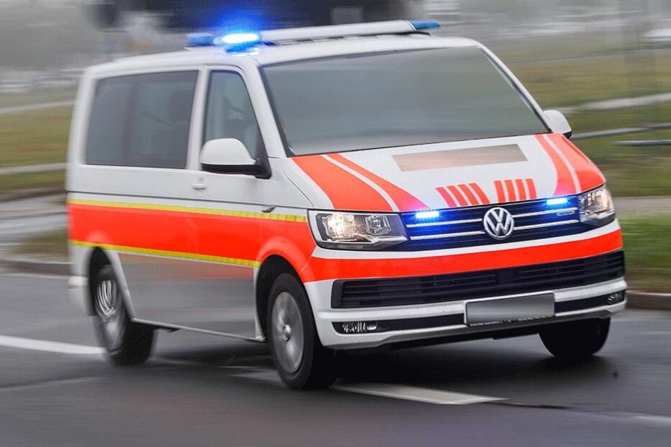 Die Seniorin kam lebensgefährlich verletzt ins Krankenhaus.