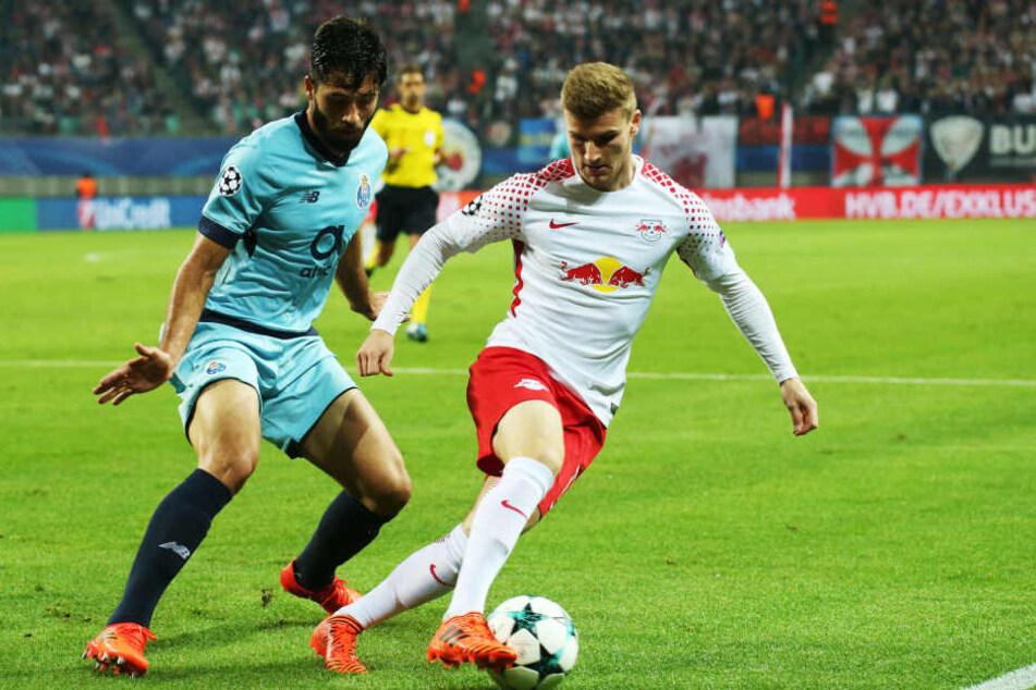 Timo Werner feierte gegen Porto sein Comeback, nachdem er RB und der Nationalmannschaft in vier Spielen fehlte.