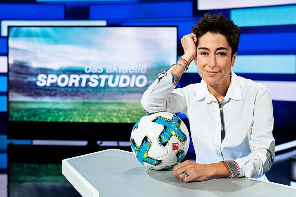 Moderatorin Dunja Hayali wird das aktuelle Sportstudio am Samstagabend im ZDF moderieren.
