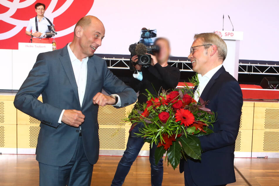Georg Maier: Papa und Landesvorsitzender der Thüringer SPD innerhalb weniger Stunden