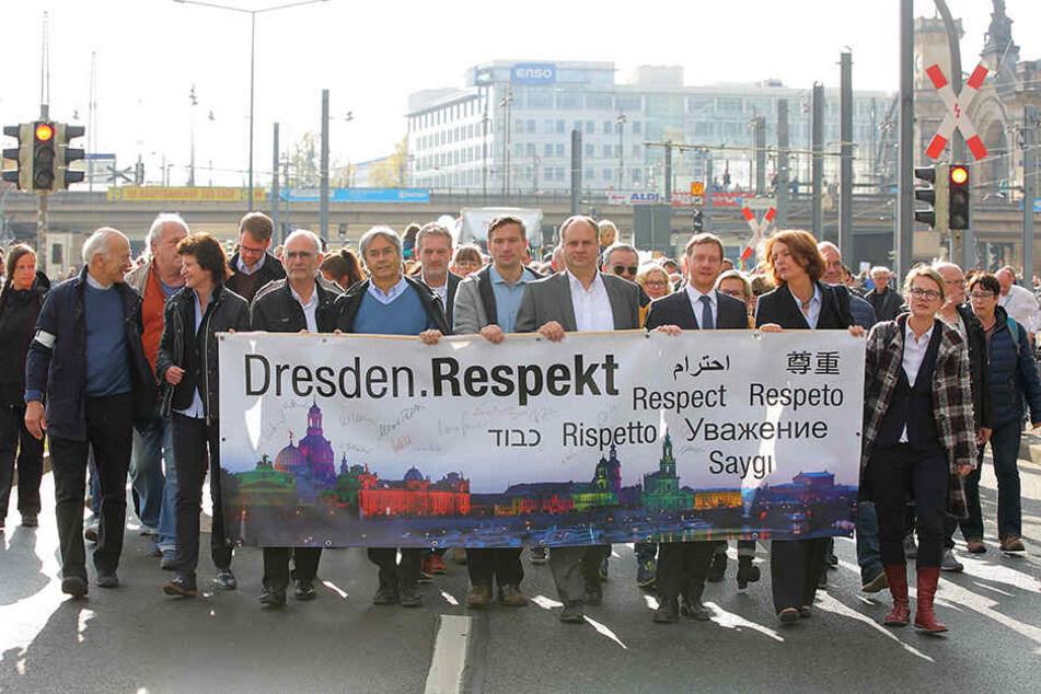 """Auch dieses Jahr wird sich OB Dirk Hilbert (47, FDP) an """"Herz statt Hetze"""" beteiligen."""
