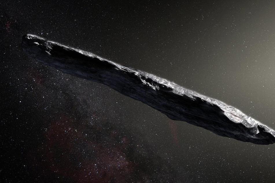 Seltsamer Asteroid-Brocken rast auf die Erde zu