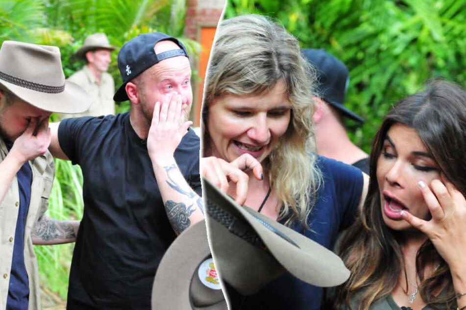 Tränen bei der Schatzsuche: Ex-Camperin Indira Weis und der Bruder vom GZSZ-Bubi kommen kuscheln.