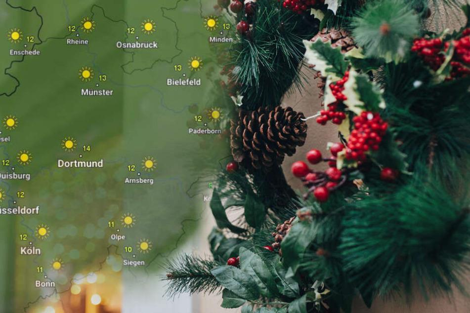 Mit diesen Temperaturen sinkt die Chance auf eine weiße Weihnachten. (Symbolbild)