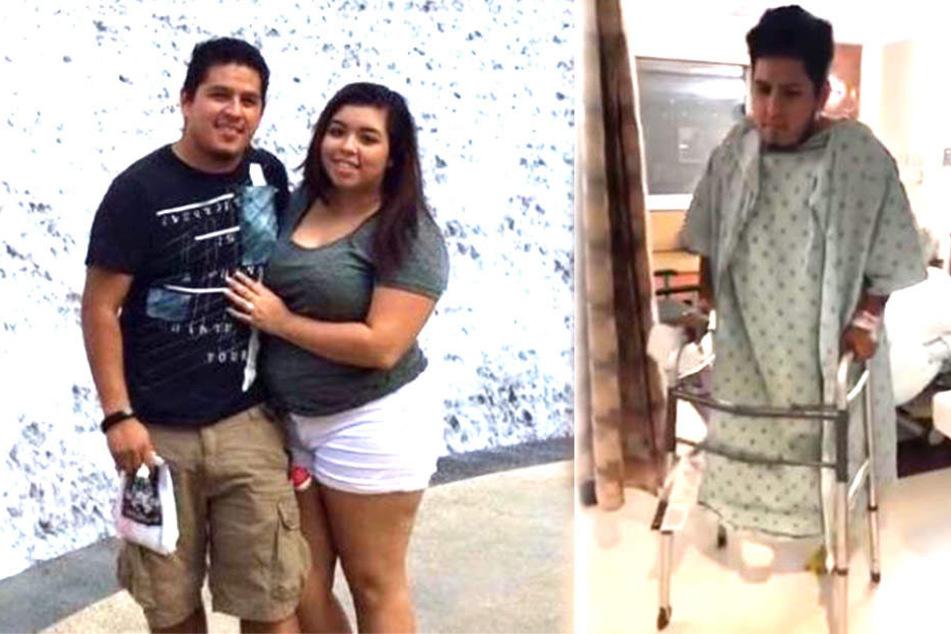 Raul Reyes (26) musste wegen eines fleischfressenden Bakteriums der Fuß abgenommen werden.