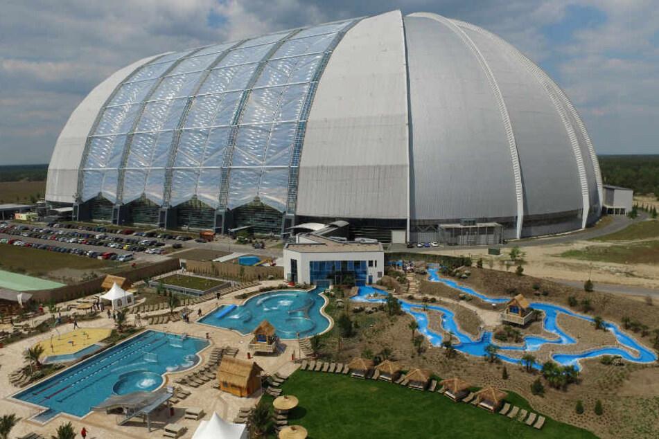 Ein 35.000 Quadratmeter großer Open Air Wasserpark kam 2016 zum Tropical Islands dazu.