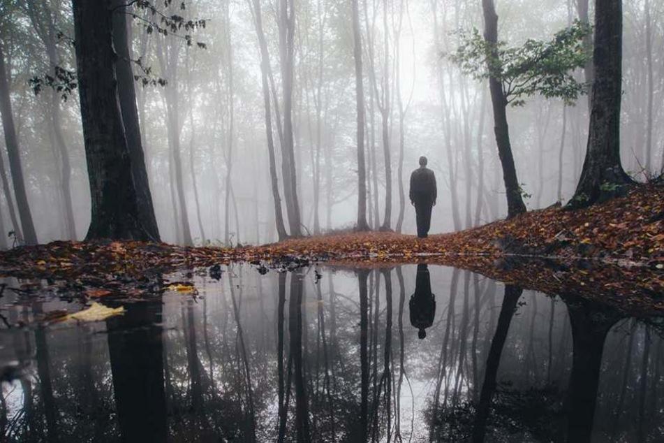 Um ihm einen Denkzettel zu verpassen setze eine Frau ihren Ex nackt im Wald aus (Symbolbild).