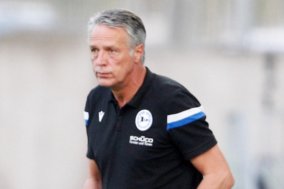 Da dürfte auch Arminia-Trainer Uwe Neuhaus (60) nicht schlecht gucken.