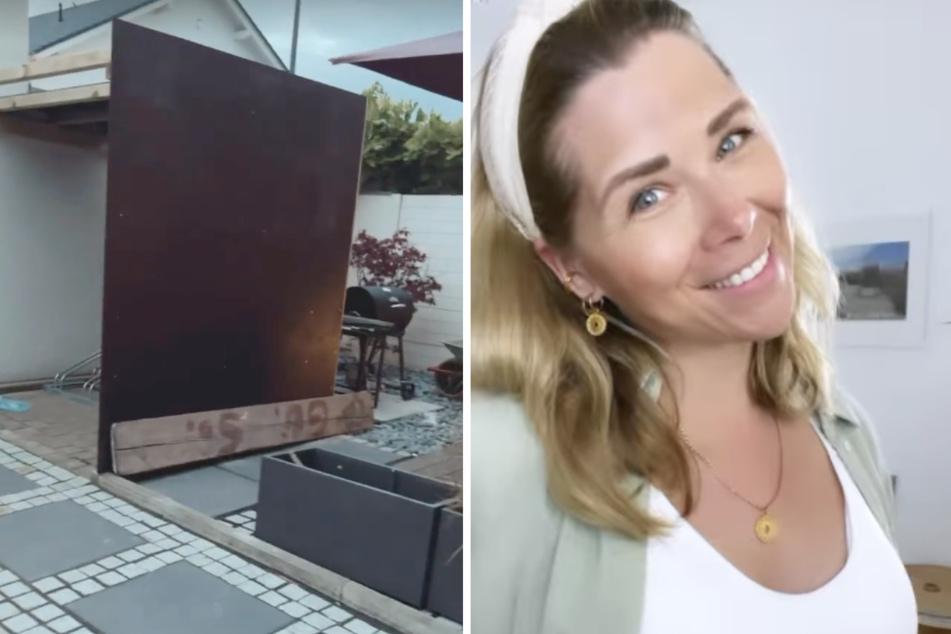 """""""Richtig hässlich"""": Tanja Szewczenko hat neues Garten-Projekt, doch was ist das?"""