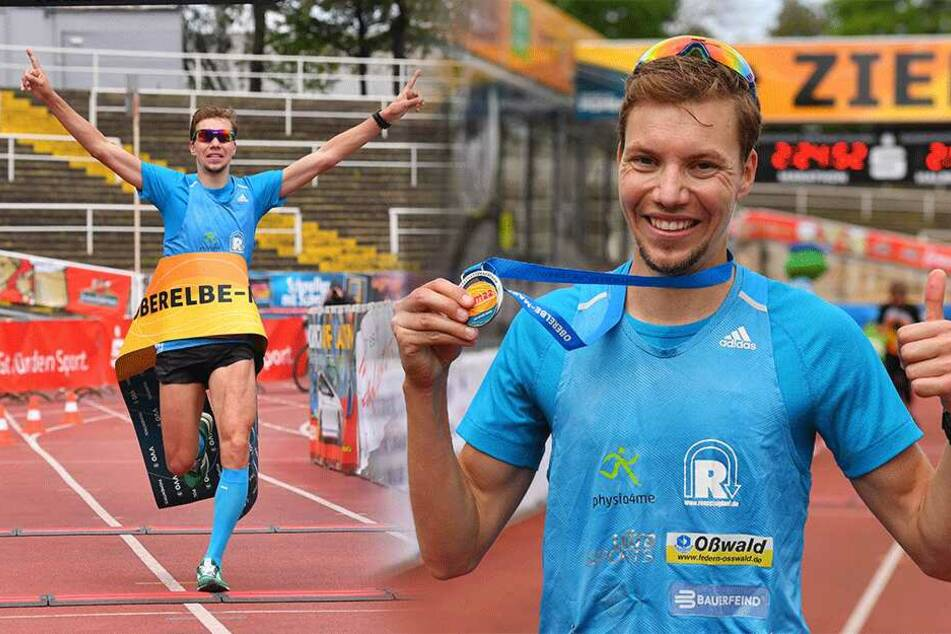 Dresden: 31-Jähriger gewinnt Dresdner Marathon mit Streckenrekord