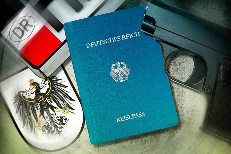 """Reichsbürger und andere """"Selbstverwalter"""" erfinden Staatsgebilde."""