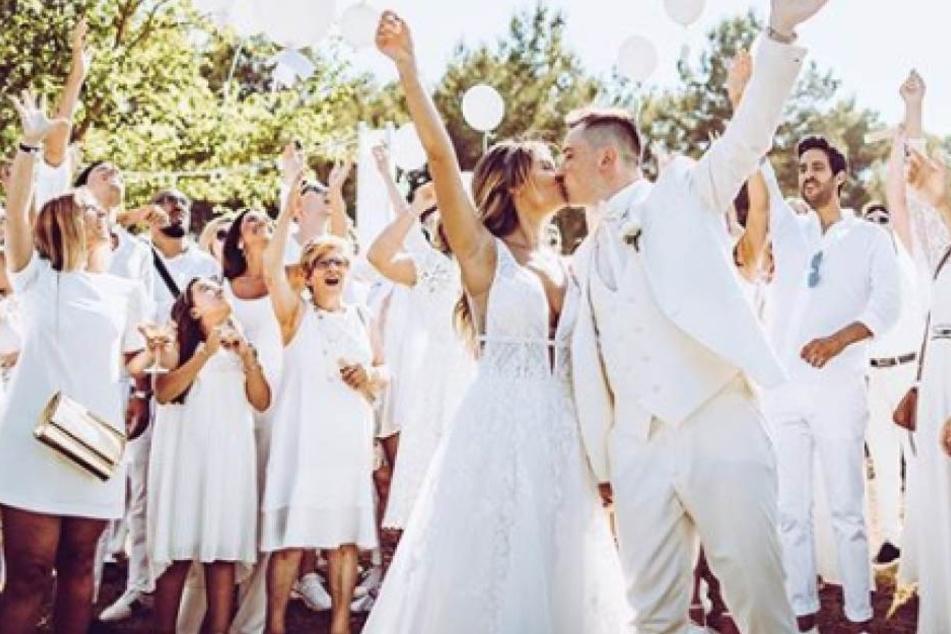 Hochzeitsvideo von Dagi Bee: Wer behielt beim Torten-Anschnitt die Hand oben?