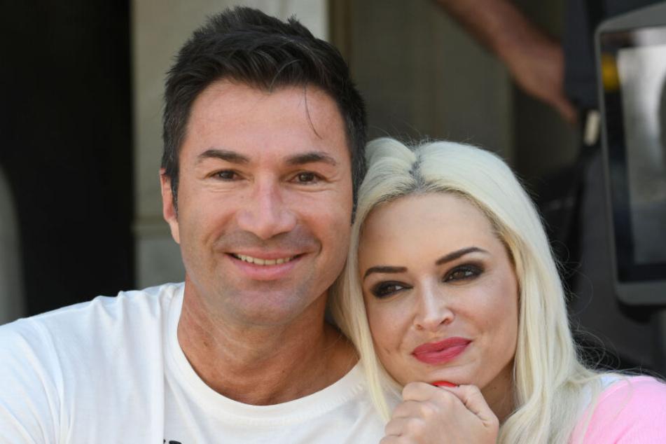 Lucas Cordalis und Ehefrau Daniela Katzenberger.