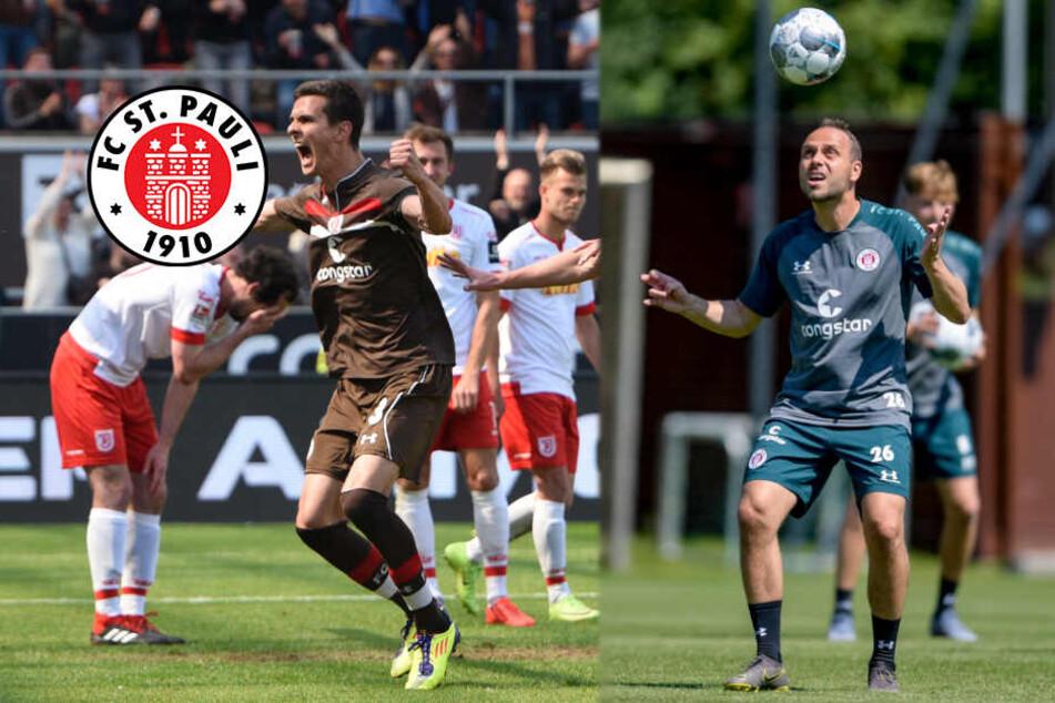 Hoffnungsschimmer beim FC St. Pauli: Verletzte Spieler kehren ins Training zurück