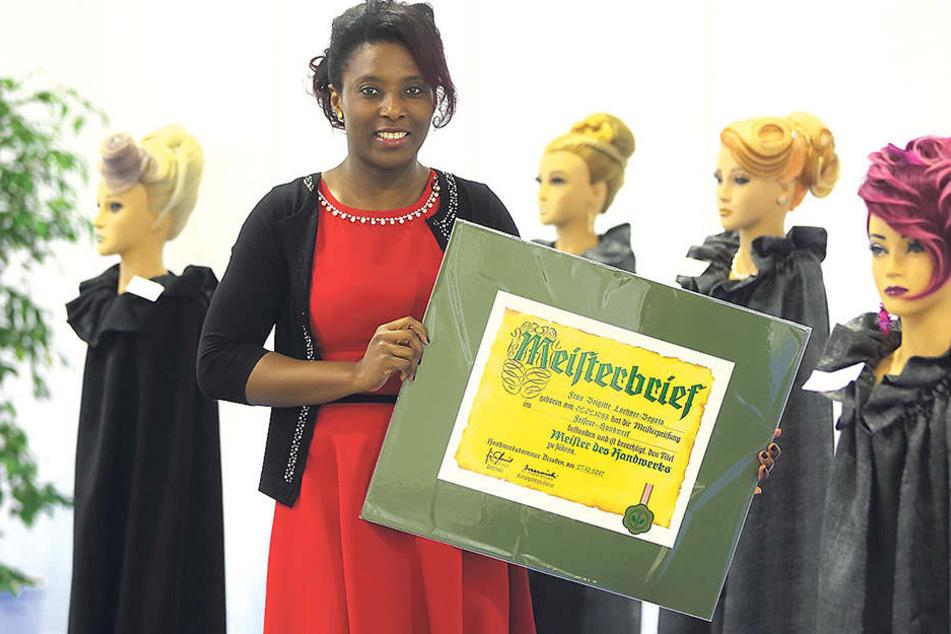 Diese Frau hat sich in Sachsen zur Meisterin durchgekämpft