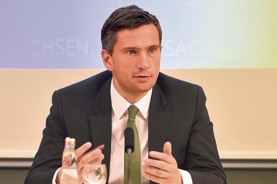 WirtschaftsministerMartin Dulig(42, SPD)kann guteExportwertefür Sachsenvermelden.