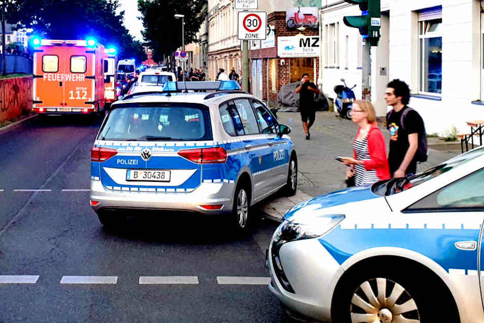 Massenschlägerei in Berlin: Zwei Verletzte!