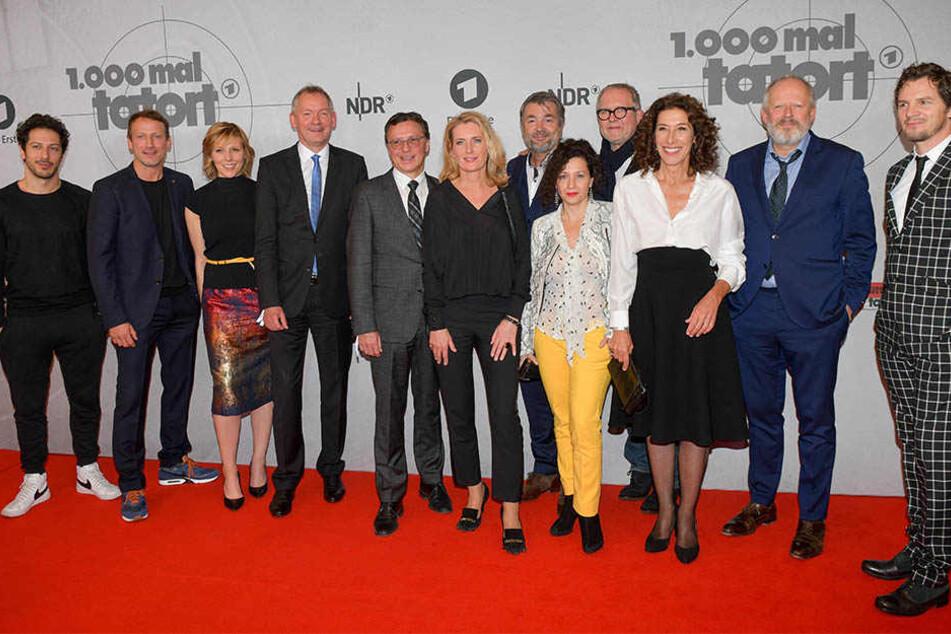 """Bei der Premiere in Hamburg waren auch viele andere """"Tatort""""_Ermittler zu Gast."""