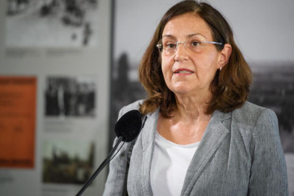 Die Leiterin der KZ-Gedenkstätte, Gabriele Hammermann, ist besorgt.