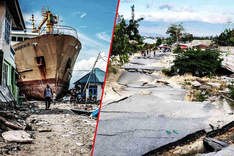 Ganze Siedlungen vom Erdboden verschluckt: Knapp 5000 Vermisste, mehr als 1900 Tote!