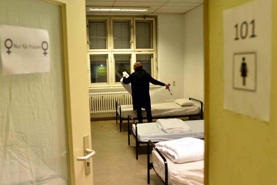 Mehr Betten für Obdachlose, als geplant