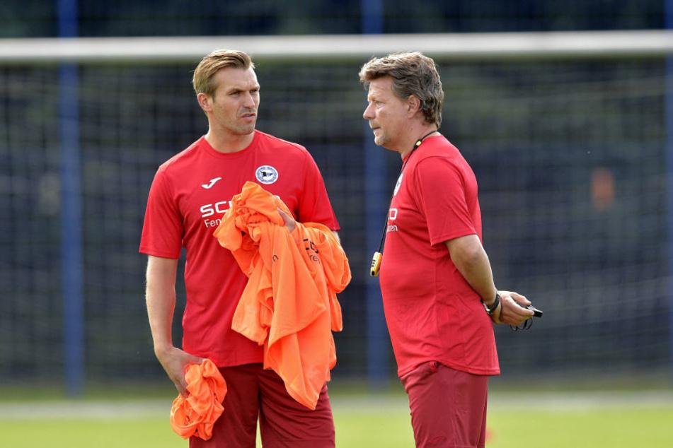 Mit der letzten Saisonvorbereitung lagen Jeff Saibene (r.) und sein Co Carsten Rump goldrichtig.