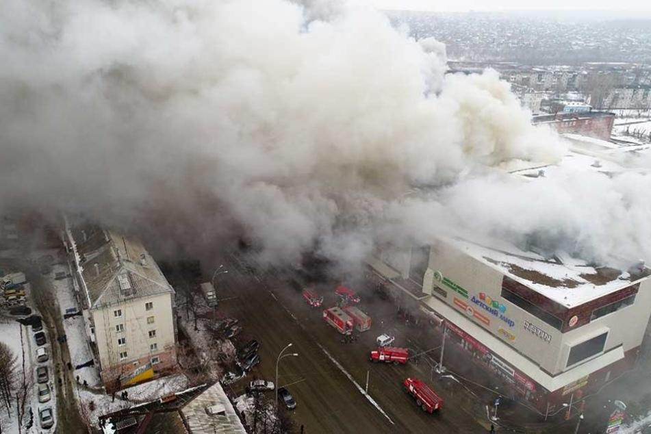 Darunter viele Kinder: Tote, Verletzte und Vermisste  bei Kaufhausbrand
