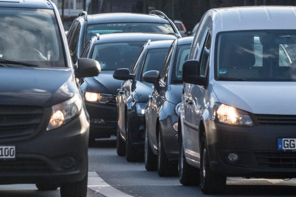 Auch der Verkehr in der Stadt nervt die Frankfurter.