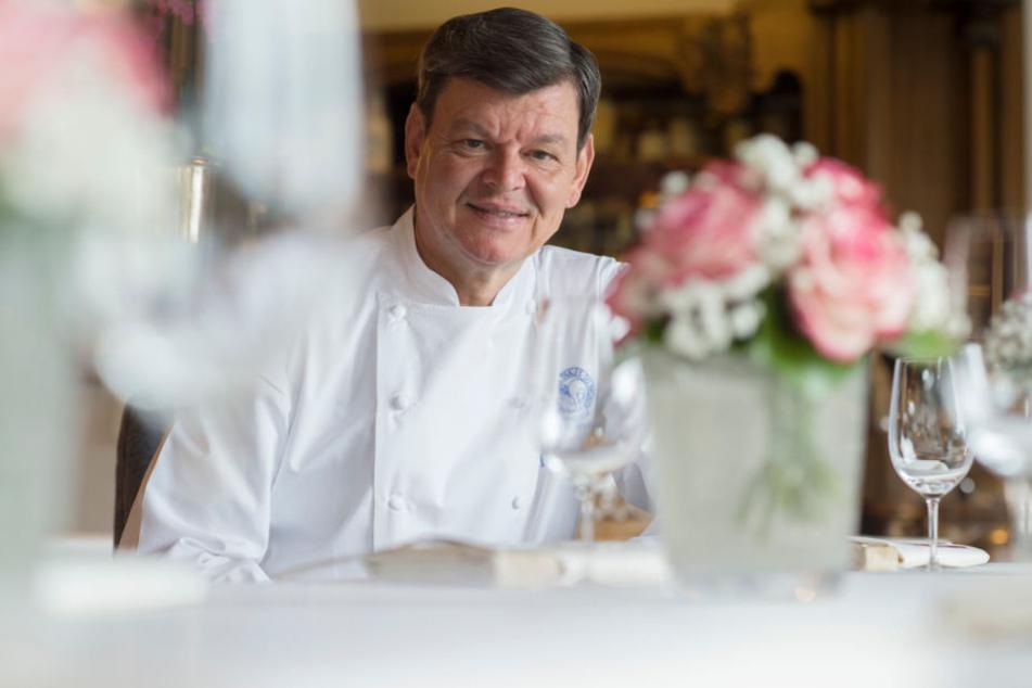 Ist froh, die Gastfreundschaft von Bocuse kennengelernt zu haben: Spitzenkoch Harald Wohlfahrt. (Archivbild)