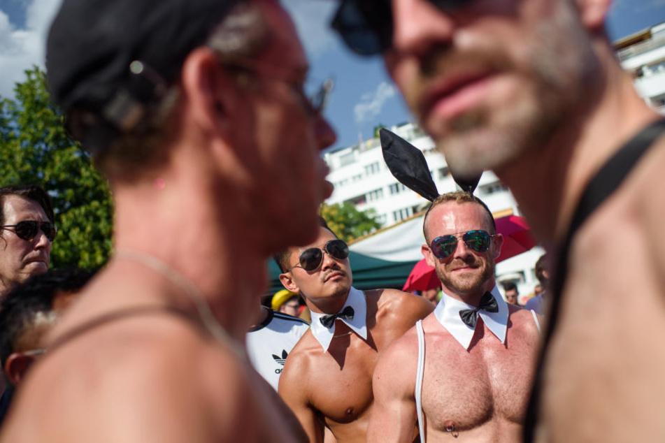 Am Samstag wurde wieder der Christopher Street Day in Berlin gefeiert.