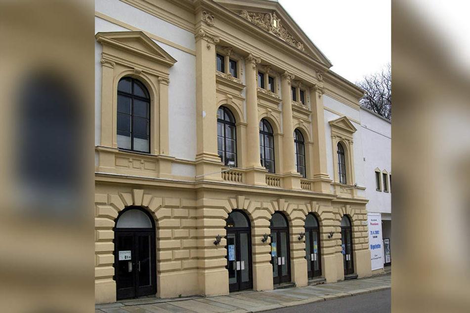 Das Eduard-von-Winterstein-Theater in Annaberg-Buchholz.