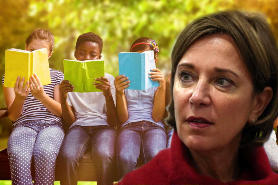 Schulministerin Yvonne Gebauer will Schülerinnen und Schüler fit in Deutsch machen. (Symbolbild)