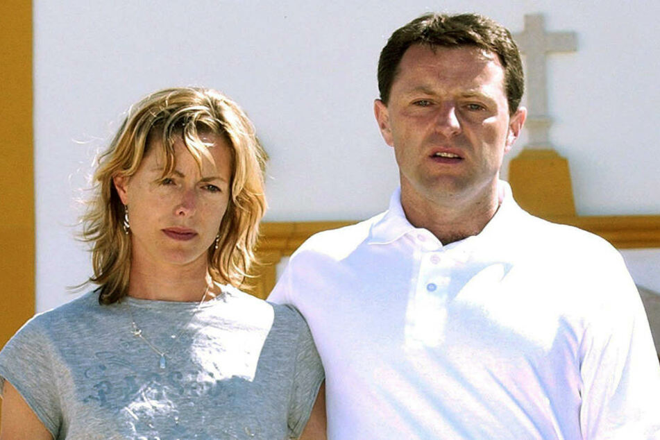 Maddies Eltern Kate and Gerry McCann suchen seit zehn Jahren nach ihrer verschwundenen Tochter.