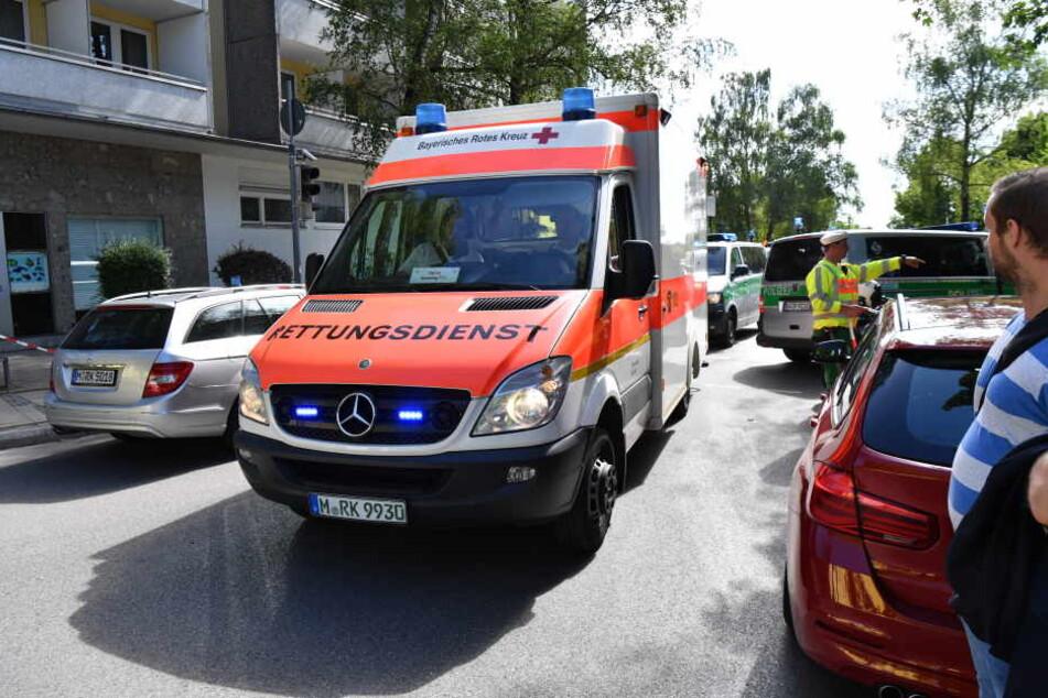 Bei einer Schießerei in Unterföhring wurde eine Polizistin lebensgefährlich verletzt.