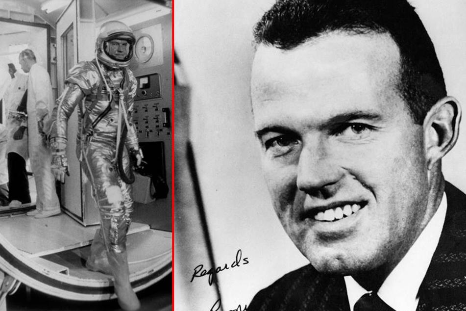 Gordon Cooper arbeite als Astronaut für die NASA und umrundete 22 Mal die Erde. 2004 verstarb er.