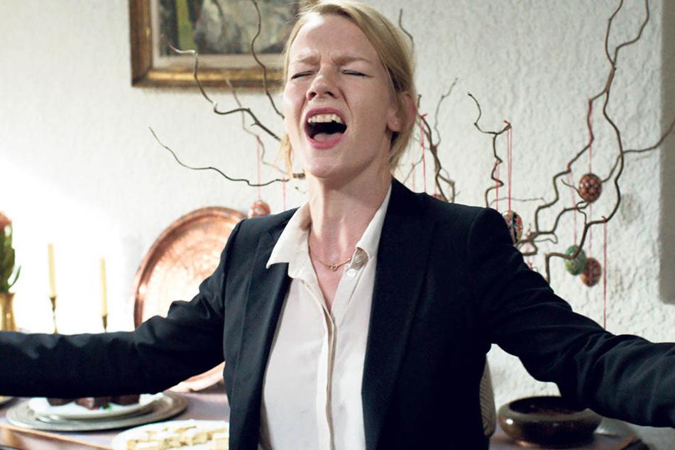 """Sandra Hüller (38) in """"Toni Erdmann""""."""