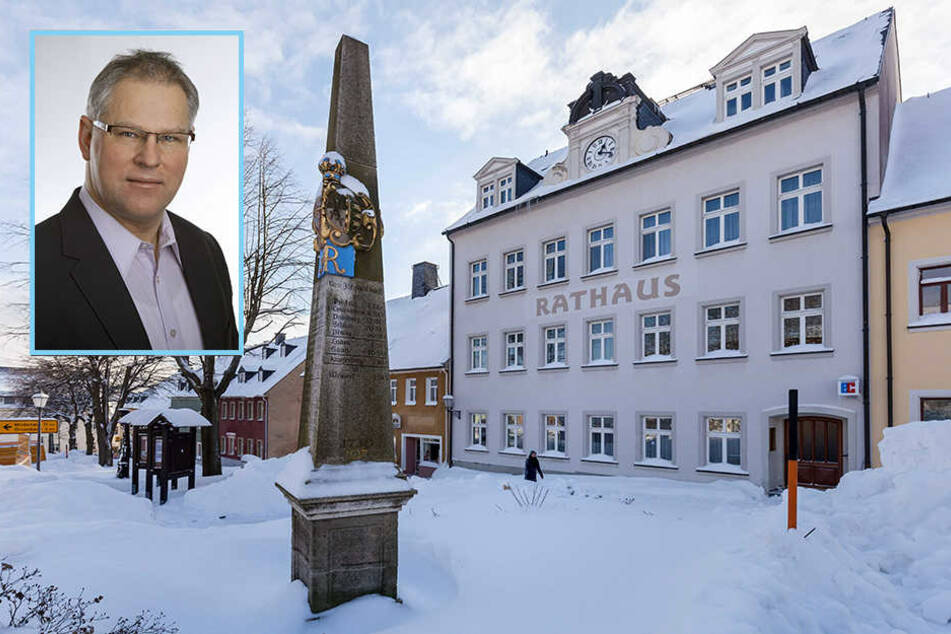 Erzgebirgs-Stadt rebelliert gegen Bürgermeister