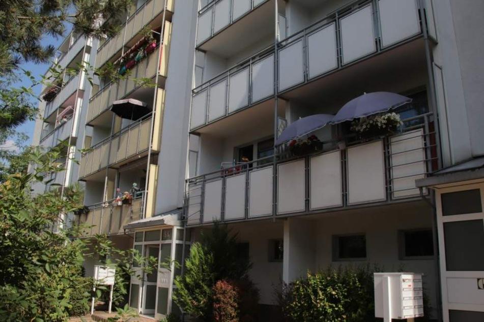 Aus einer Wohnung in diesem Wohnblock im Herrenberg entführte der Mann seine Ex-Freundin.