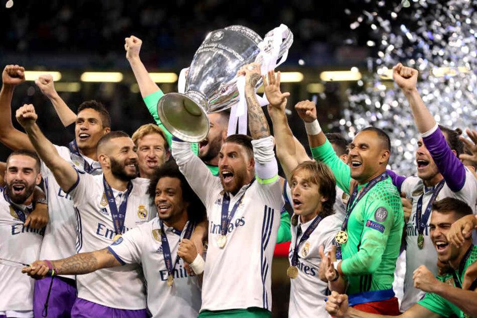 Titelverteidiger Real Madrid ist ein möglicher Gegner der Roten Bullen.