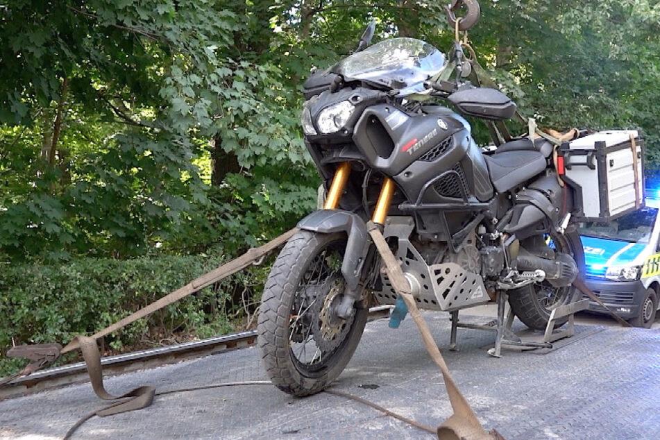 Bei einem Unfall in Wernigerode ist am Samstag ein Motorradfahrer verletzt worden.