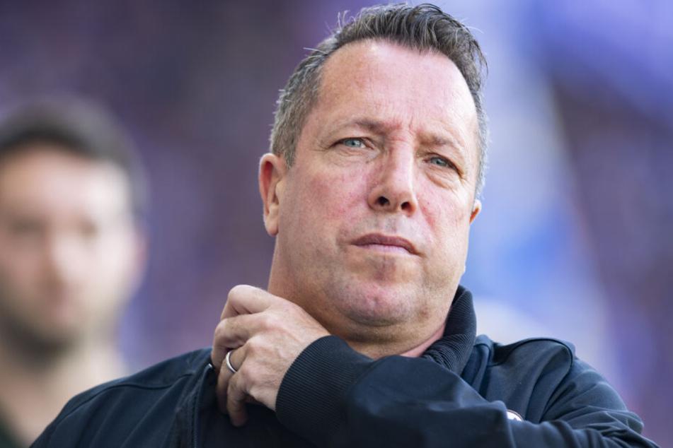 Markus Kauczinski stellt sich am Dienstag bei Dynamo als neuer Cheftrainer vor.