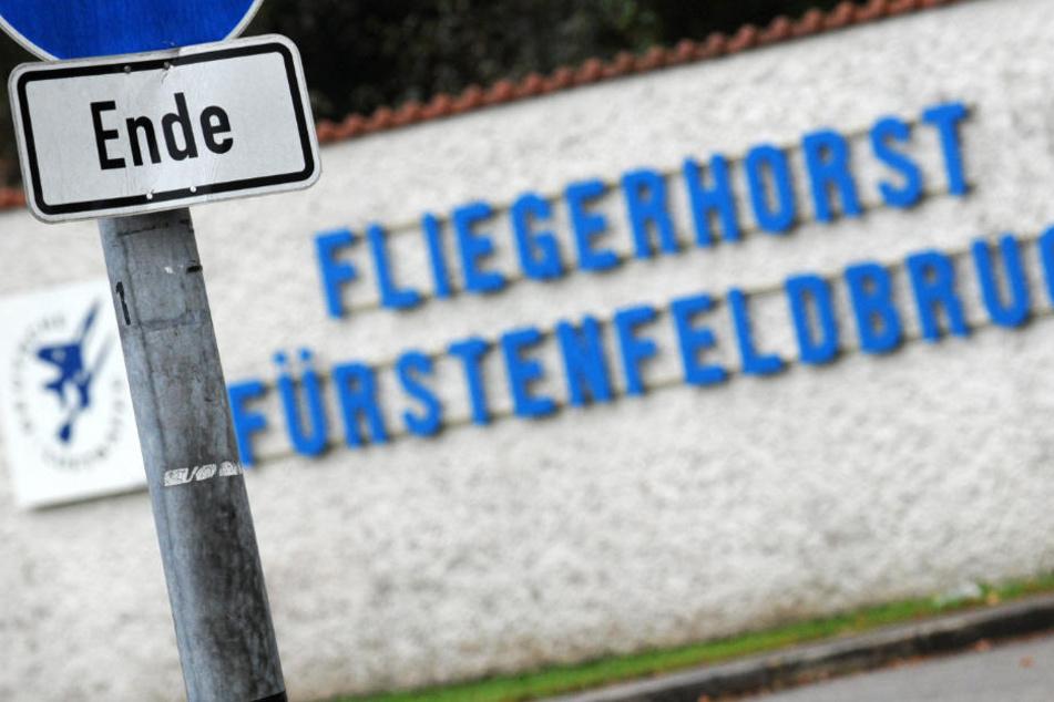 Der Vorfall ereignete sich auf dem Gelände des Fliegerhorstes Fürstenfeldbruck. (Archivbild)