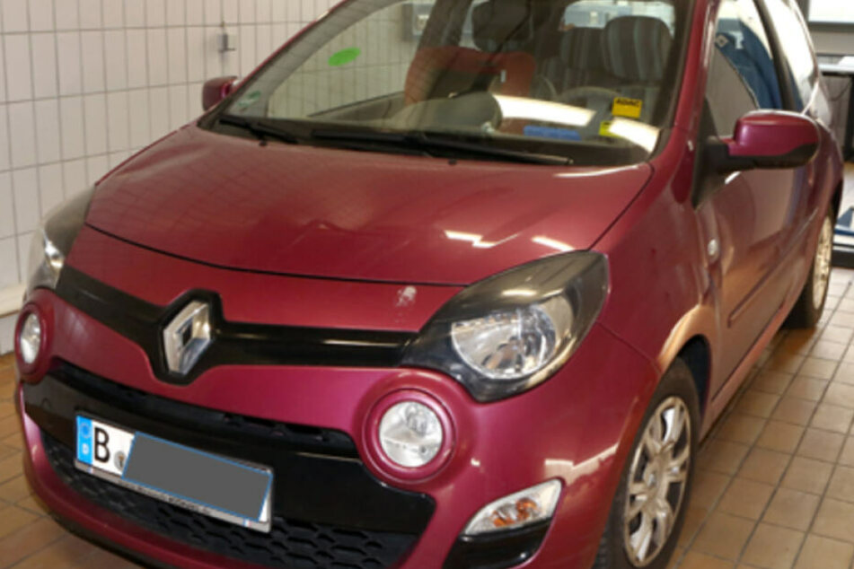 Das Auto des Schwagers wurde am Tag von Rebeccas Verschwinden in Brandenburg erfasst.