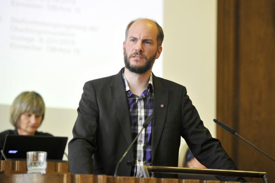 Pro-Chemnitz-Chef Martin Kohlmann.
