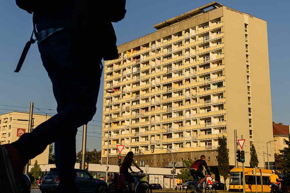 Dresden: Hochhaus am Pirnaischen Platz: Geht jetzt die Sanierung los?