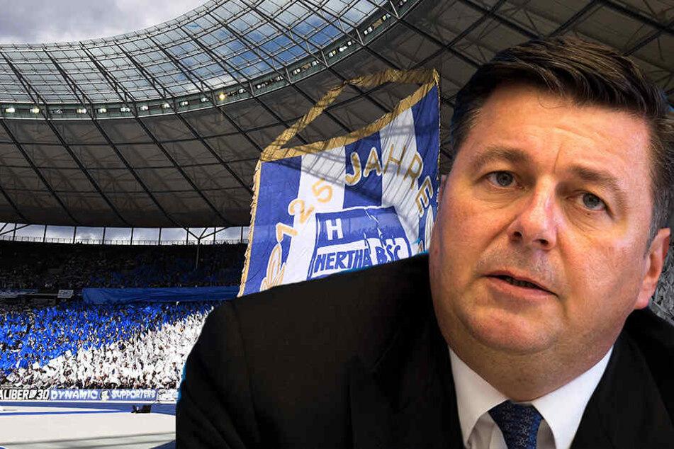 Sportsenator Andreas Geisel bevorzugt einen Verbleib im Olympiastadion.