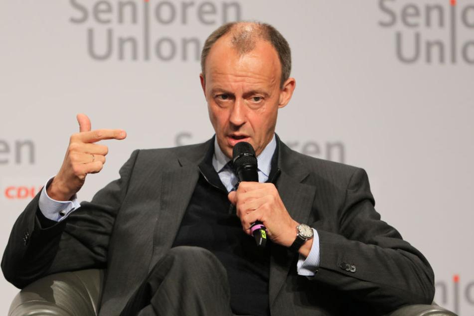 Friedrich Merz will CDU-Vorsitzender werden.